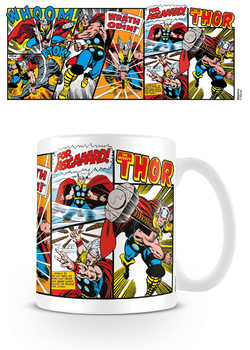 Hrnček  Marvel Retro - Thor Panels