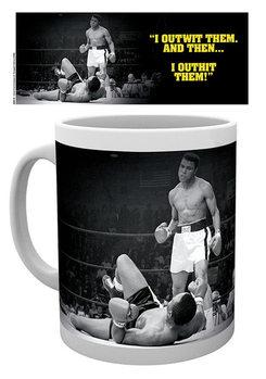 Hrnček Muhammad Ali - Outwit outhit