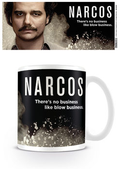 Hrnček  Narcos - There's no business like blow business