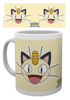 Hrnček Pokémon - Meowth Face