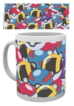 Hrnček Pokemon - Pokeballs