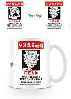 Hrnček Rick and Morty - Wanted