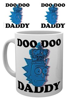 Hrnček  Rick & Morty - Doo Doo Daddy