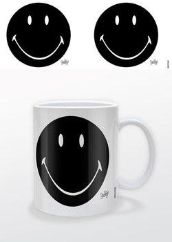 Hrnček Smiley - Black