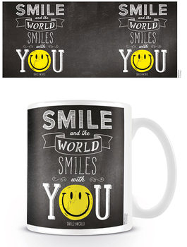 Hrnček Smiley - World Smiles With You