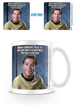 Hrnček Star Trek - Kirk Laughing