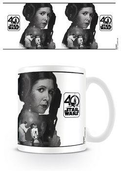 Hrnček Star Wars 40th Anniversary - Princess Leia