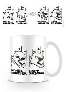 Hrnček Star Wars : Epizóda VII - Helmets
