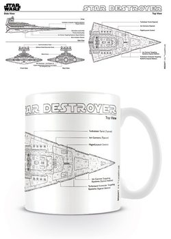 Hrnček Star Wars - Star Destroyer Sketch