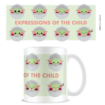 Hrnček Star Wars: The Mandalorian - Expressions Of The Child