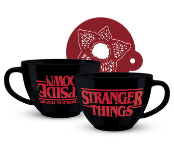 Hrnček Stranger Things - The World is Turning Upside Down