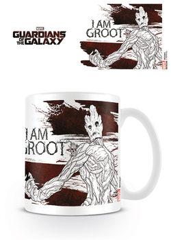 Hrnček Strážcovia Galaxie - I Am Groot