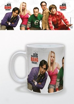 Hrnček  The Big Bang Theory - Cast