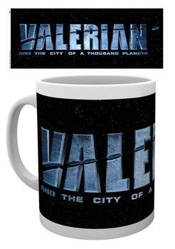 Hrnček Valerian a mesto tisícich planét - Logo