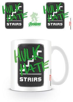 Hrnek  Avengers: Endgame - Hulk Hate Stairs