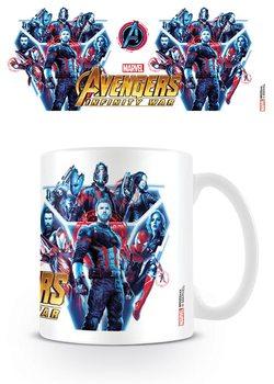 Hrnek  Avengers Infinity War - Heroes United