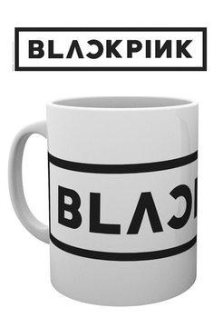 Hrnek Black Pink - Logo