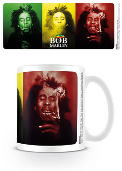 Hrnek  Bob Marley - Tricolour Smoke