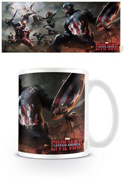 Hrnek Captain America: Občanská válka - Battle