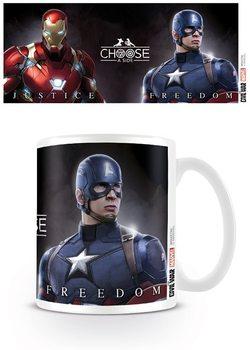 Hrnek Captain America: Občanská válka - Choose A Side