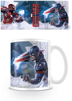 Hrnek Captain America: Občanská válka - War