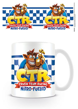 Hrnek  Crash Team Racing - Checkered Flag