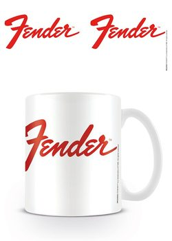 Hrnek Fender - Logo