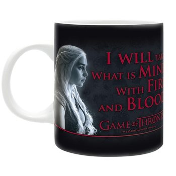 Hrnek Hra o Trůny (Game of Thrones) - Fire & Blood