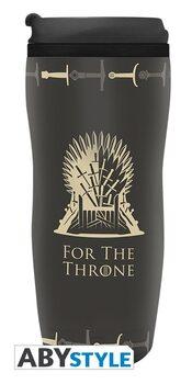 Cestovní hrnek Hra o Trůny(Game of Thrones) - Iron Throne