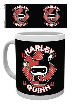 Hrnek  Liga spravedlivých - Harley Quinn Chibi