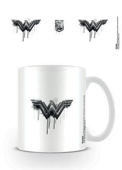 Hrnek  Liga spravedlivých - Wonder Woman Logo Drip