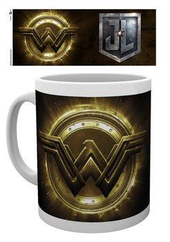 Hrnek  Liga spravedlivých - Wonder Woman Logo