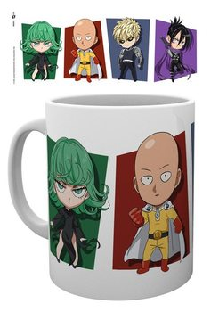 Hrnek One Punch Man - Chibi Characters