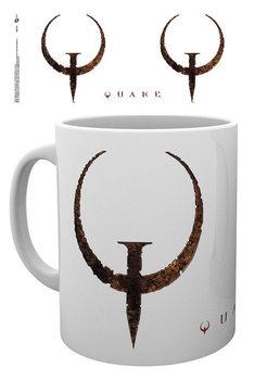 Hrnek  Quake - Logo