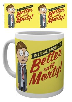Hrnek Rick And Morty - Better Call Morty