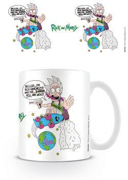 Hrnek  Rick and Morty - El Ricko