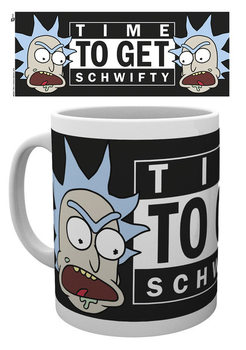 Hrnek  Rick And Morty - Time To Get Schwifty