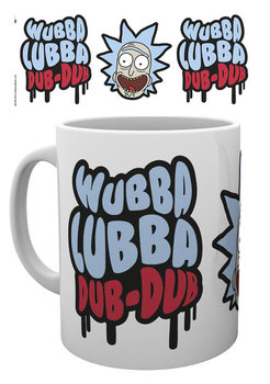 Hrnek Rick and Morty - Wubba Lubba Dub Dub