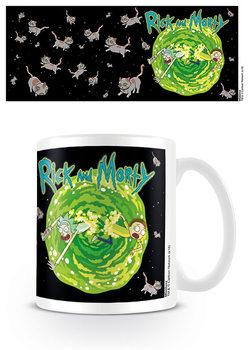 Hrnek  Rick & Morty - Floating Cat Dimension
