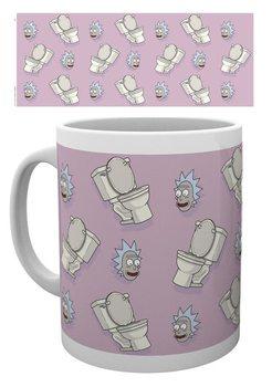 Hrnek Rick & Morty - Toilet