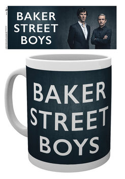 Hrnek Sherlock - Baker Street Boys