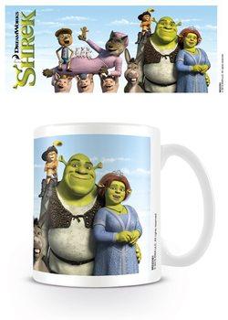 Hrnek Shrek - Characters