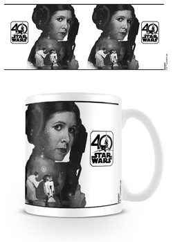 Hrnek Star Wars 40th Anniversary - Princess Leia