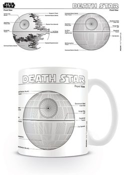 Hrneček na čaj a na kávu Star Wars - Death Star Sketch