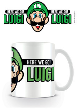Hrnek  Super Mario - Here We Go Luigi