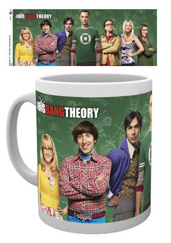 Hrnek The Big Bang Theory (Teorie velkého třesku) - Cast