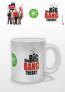 Hrnek The Big Bang Theory (Teorie velkého třesku) - Logo