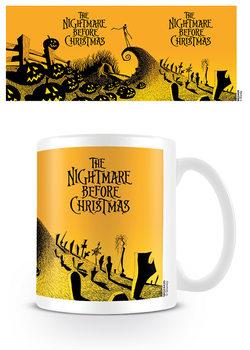 Hrnek  Ukradené Vánoce Tima Burtona - Graveyard Scene
