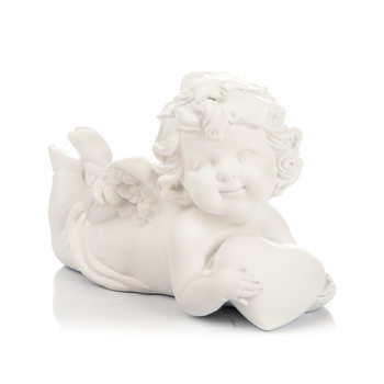 Angel Lying on Stomach, 9 cm Huis Decoratie