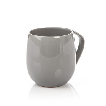 Mug Egg-Shaped Dark Gray 300 ml Huis Decoratie
